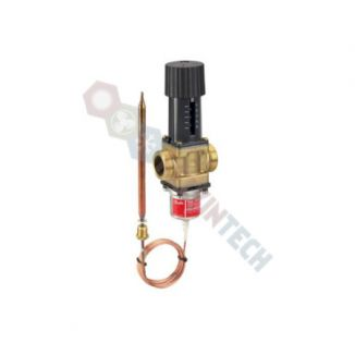 Regulator temperatury Danfoss model AVTB, DN15, Kvs 1.9, T 0-30°C, gwint zew.