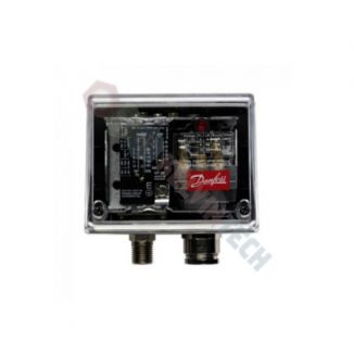 Presostat Danfoss model KPI 38 (IP55), zakres nastawy 1.8bar - 28bar