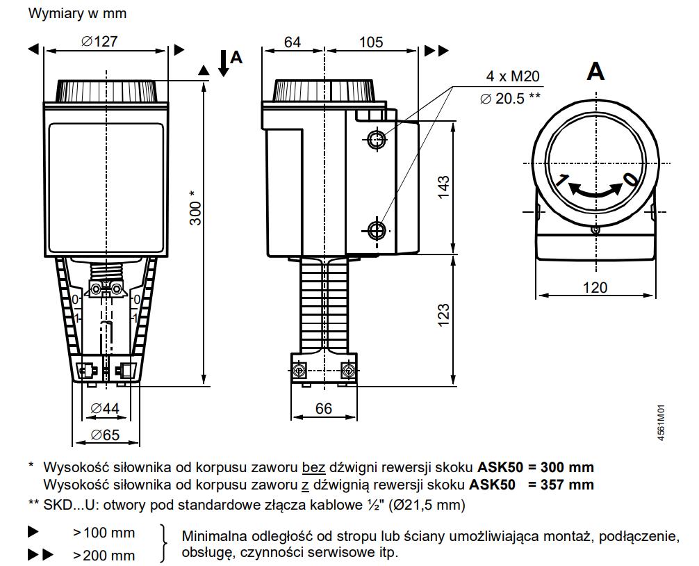 Siemens skd32 - wymiary