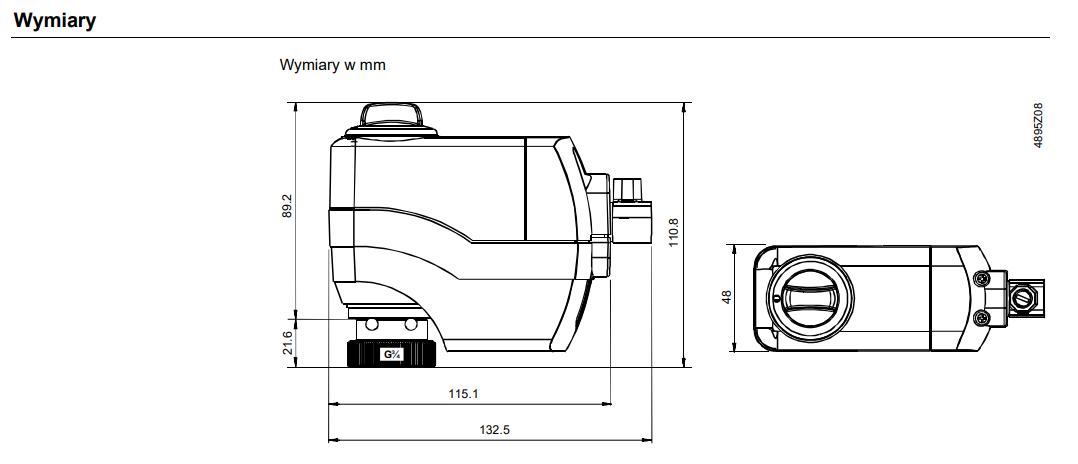 Siemens ssc31 - wymiary
